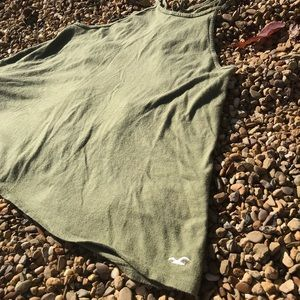 Army green hollister tank